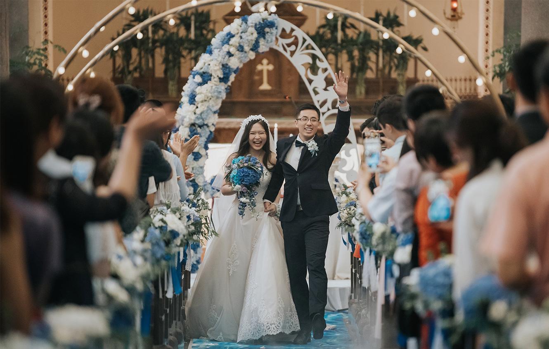 北京西直门教堂婚礼策划案例_地中海风格